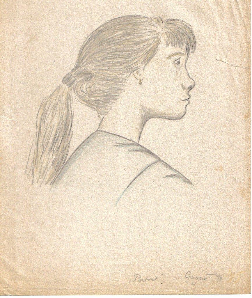 Portret de adolescentă
